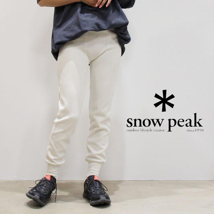 snow peak スノーピーク サーマルレギンス 19SU0060