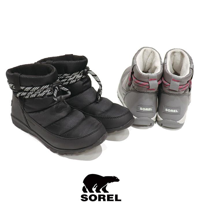 SOREL (ソレル) Ws WHITNEY SHORT(ウィメンズ ウィットニー ショート)正規販売店 ウィンターブーツ スノーブーツ ウォータープルーフ アウトドア 防水性 キャンプ スニーカー レインブーツ レインシューズ