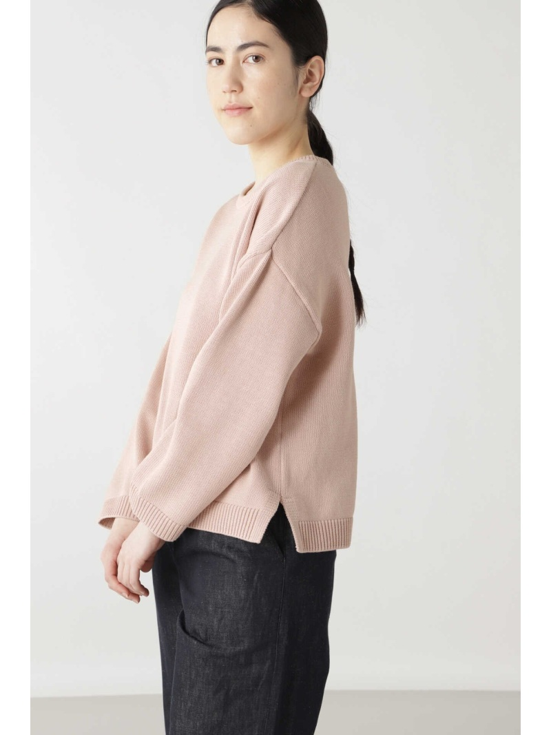 Rakuten FashionSALE 55 OFF コットンポリエステルミックス HUMAN WOMAN ヒューマン ウーマン ニット ニットその他 ピンク ホワイト RBA E送料無料Yby6If7vg