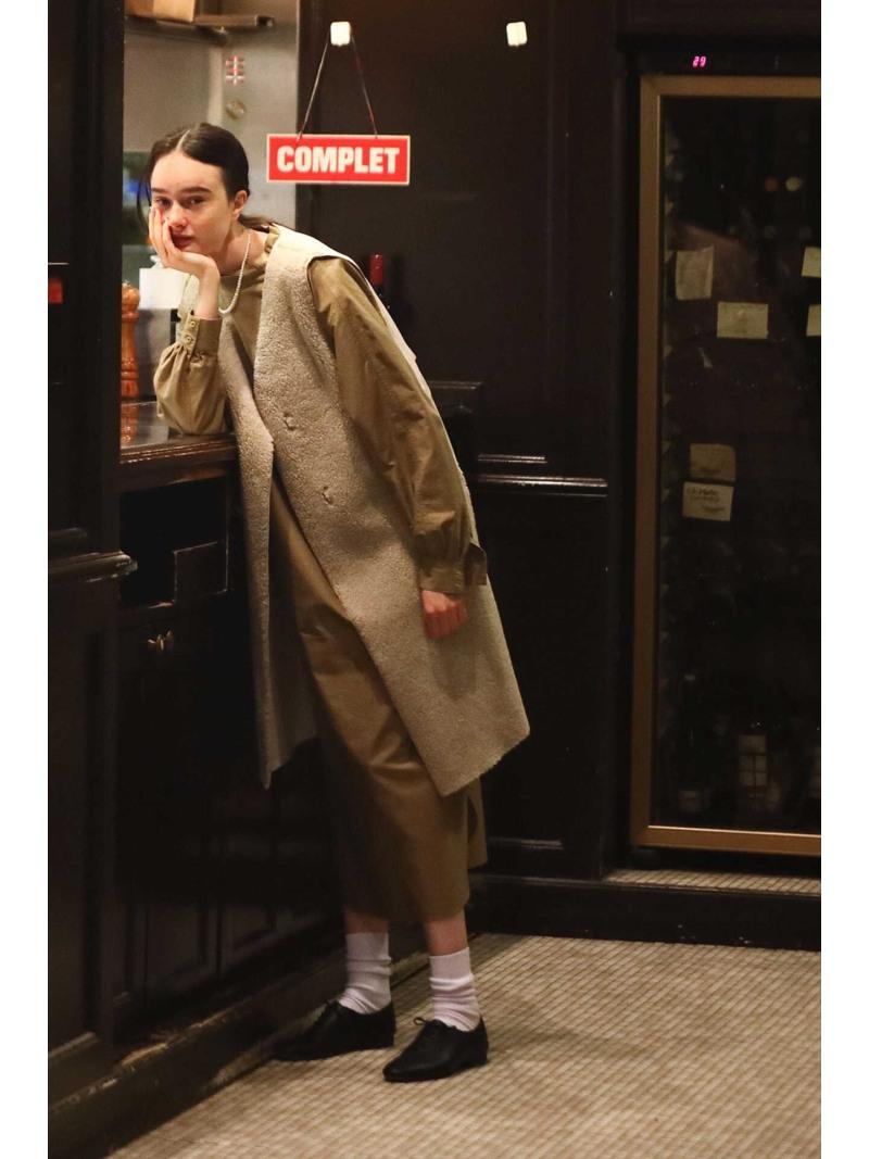 KW_newline HUMAN WOMAN レディース 毎日がバーゲンセール ワンピース ヒューマン ウーマン Rakuten ブラウン 信用 ベージュ 送料無料 ワンピースその他 ライトモールスキンワンピース 5e Fashion RBA_E