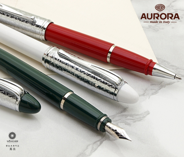 Piston fillers only really took hold in Italy after WWII. Of course, this  pen has the Aurora logo etched into the section like the modern pens.