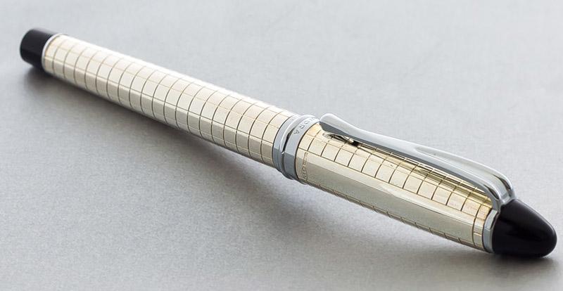 e3b4d6b9e1b4 Beautiful pen away and italic checkered IPSILON   Epsilon QUADRA   Quadra  sterling silver fountain pen 14 k fountain pen!