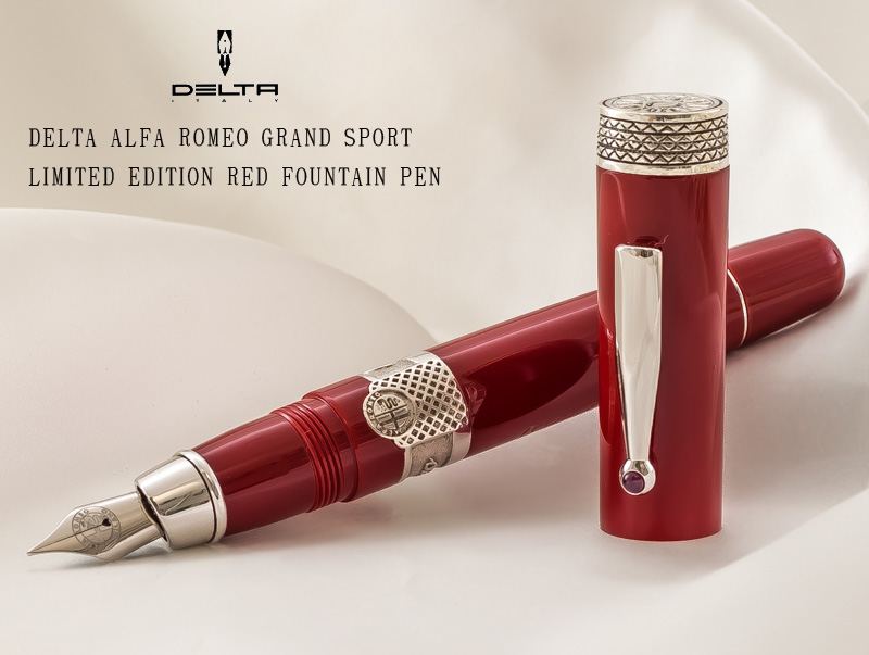 Stationary Shop Penlife Italy Car Limited Edition Masterpiece Alfa