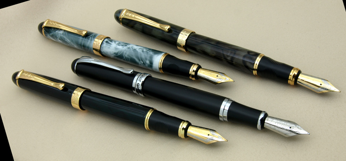 Brand New Duke 510 Chinese Traditional Opera Face painting Fountain Pen  High Grade Business Gift Pens 0.5mm Iraurita Nib Ink Pen-in Fountain Pens  from ...