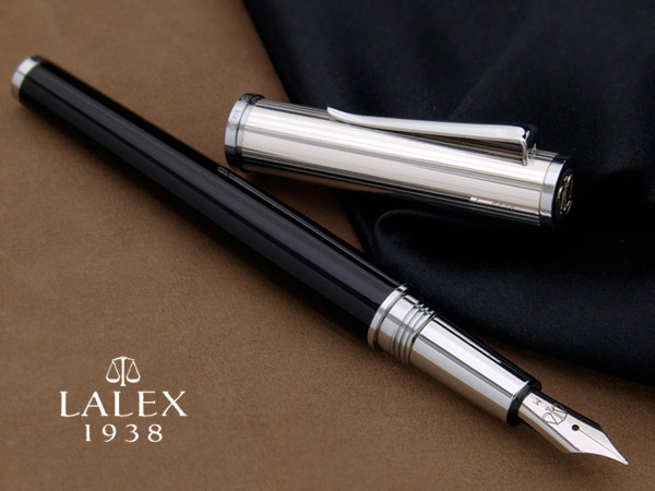 9058d32cc819 Stationary shop PenLife  Italian silver fountain pen LINEA silver ...