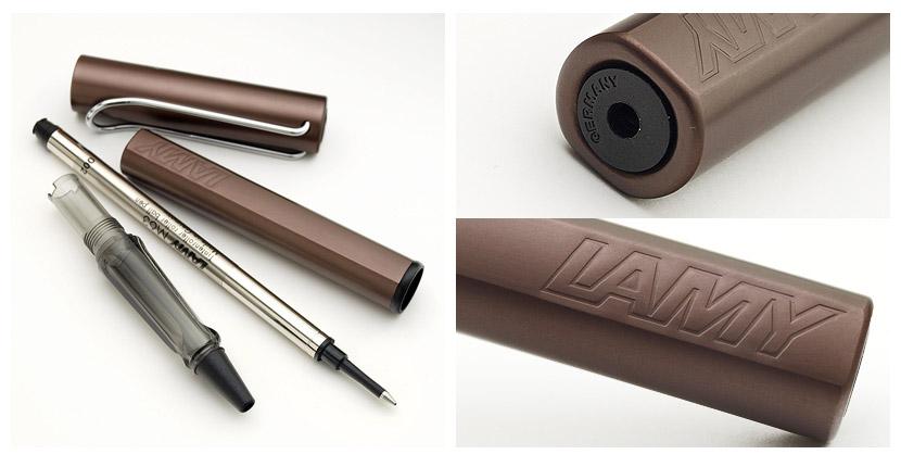 AL-STAR/欧斯特滚柱球2010年限定色咖啡棕色非卖品笔盒附属!