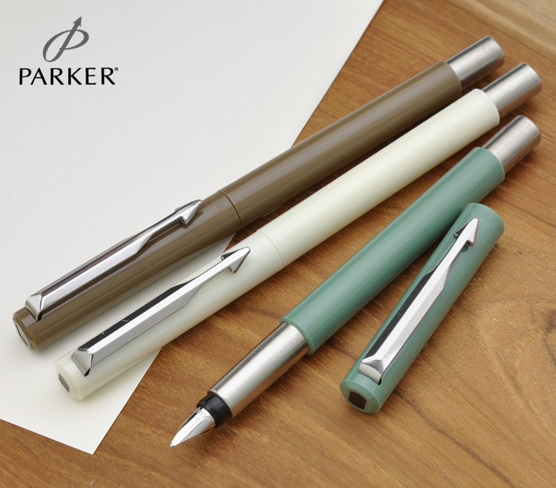 3 New colors now available! Atmosphere of retro 50's American whiteness /  jade / bronze fountain pen