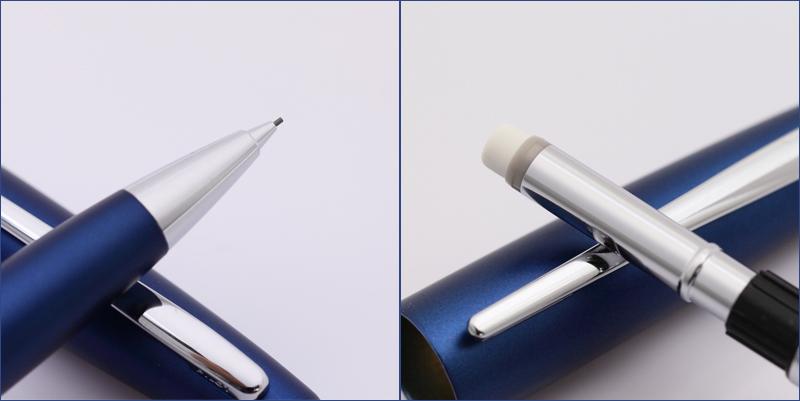 茧/茧蓝色铅笔 0.5 毫米厚的轴径和棕榈融合和谐好重与 HCO-150R-L