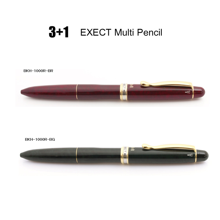 a790e403692 The luxurious one which three colors of J 3+1 エグゼクト multifunctional writing  implements ball-point pen (black
