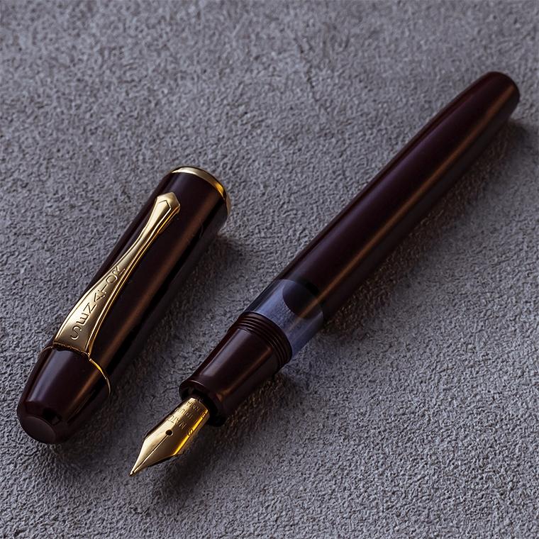 d1937e97479e Piston filler type belonging to tail axis for character) bottle ink set  desk pen out of Regent  Regent fountain pen burgundy M(