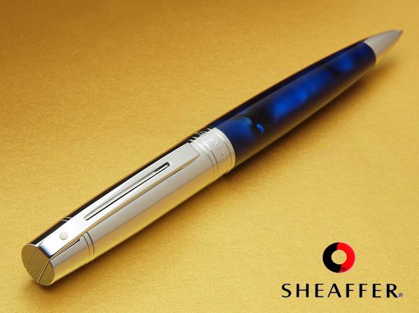 附带300大理石蓝色CT圆珠笔厌烦的不来的被精制的设计纯正的本皮革笔盒的礼品盒