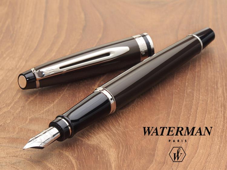 2e7dbc9f1bfe Stationary shop PenLife  Expert essential dark brown CT fountain pen ...