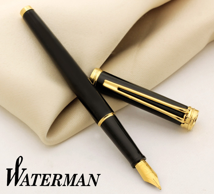 6ff0eefcb94a Stationary shop PenLife  Easy to use C Black GT fountain pen L (bold ...
