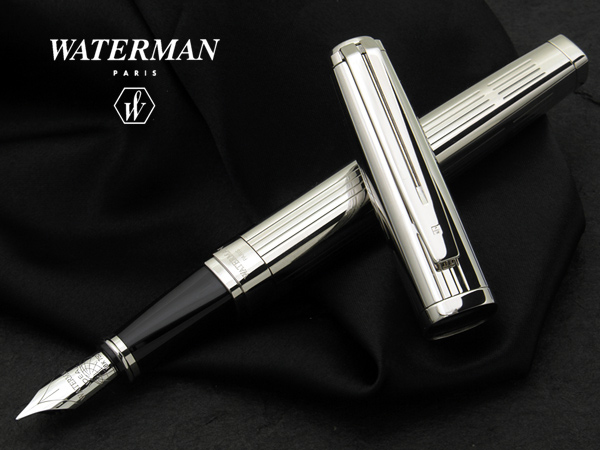 4f2f4021265 J at the top! Exceptions precious metal series sterling silver fountain pen  modern stripes