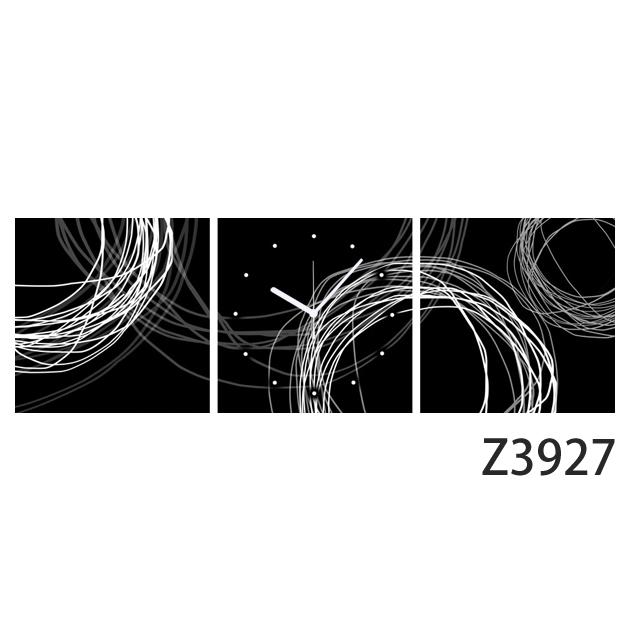 壁掛け時計 日本初!300種類以上のデザインから選ぶパネルクロック◆3枚のアートパネルの壁掛け時計◆hOur Design Z3927【イラスト】【代引不可】 送料無料