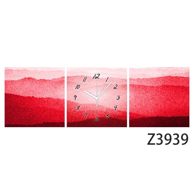 壁掛け時計 日本初!300種類以上のデザインから選ぶパネルクロック◆3枚のアートパネルの壁掛け時計◆hOur Design Z3939【風景】【アート】【イラスト】【代引不可】 送料無料