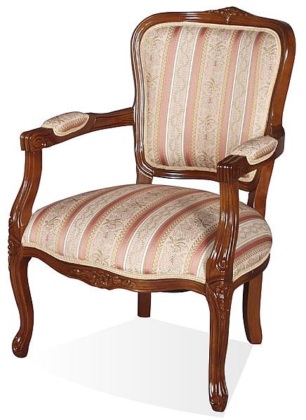 【送料無料】SA-C-1160-AB5 アームチェアー チェアー イス 椅子 茶色 ブラウン輸入家具 Fioreフィオーレシリーズ 猫脚 ラグジュアリー ロココ ヨーロピアン 家具 ヨーロピアン アンティーク クラシック