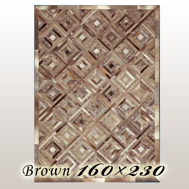 ラグ カーペット ウルポ Urpo インド ブラウン 160×230cm