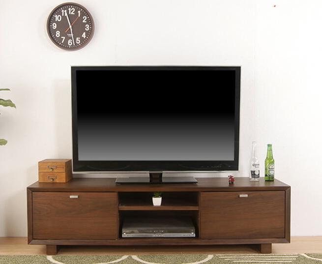 テレビ台 ワンダ 150TVボード ウォールナット 幅150cm ローボード 引出し収納 天然木 テレビボード モダン 高さ40cm おしゃれ 木製 完成品 AVボード