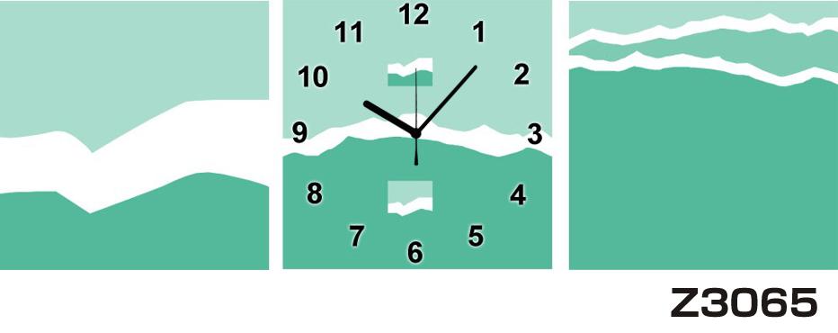 日本初!300種類以上のデザインから選ぶパネルクロック◆3枚のアートパネルの壁掛け時計◆hOur DesignZ3065【アート】【代引不可】 送料無料 新生活 引越