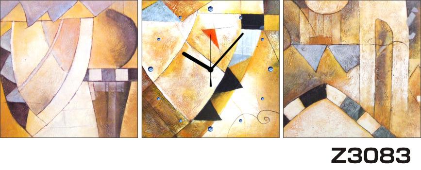 日本初!300種類以上のデザインから選ぶパネルクロック◆3枚のアートパネルの壁掛け時計◆hOur DesignZ3083【アート】【代引不可】 送料無料 新生活 引越