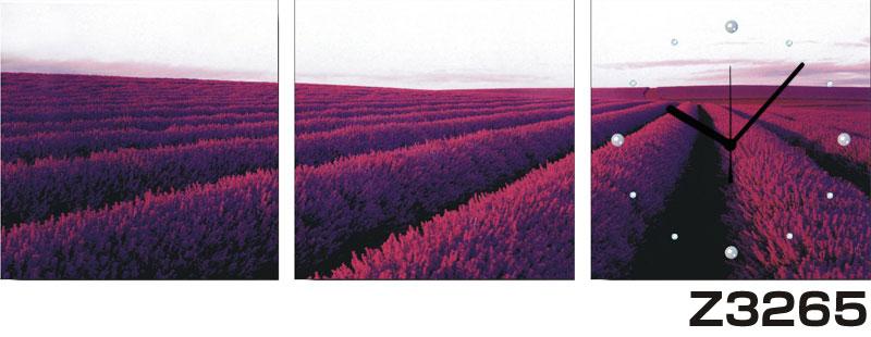 日本初!300種類以上のデザインから選ぶパネルクロック◆3枚のアートパネルの壁掛け時計◆hOur DesignZ3265【アート】【風景】【自然】【代引不可】 送料無料 新生活 引越