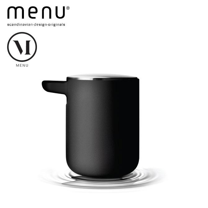 北欧雑貨 menuシリーズ ソープディスペンサー 洗剤入れ ステンレススチール プラスチック シンプル モダン