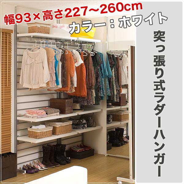 Huonest: Clothing Storage Stretch Style Ladder Hanger