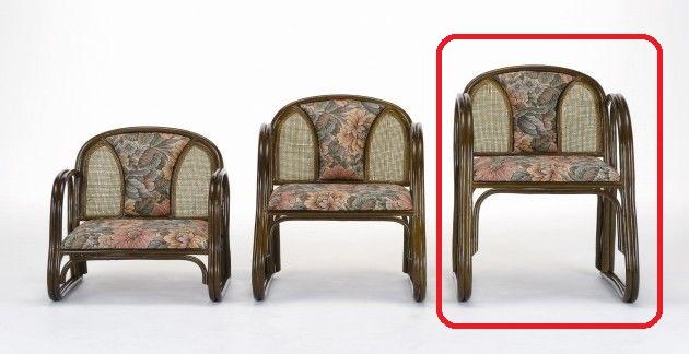 座椅子 クッションとラタン編みのコンビネーションがポイント! 楽々便利座椅子ハイタイプ イス・チェア 籐製 送料無料 座椅子 座イス 座いす 椅子 いす イス チェア チェアー 姿勢 腰痛 コンパクト 北欧 シンプル クッション 座布団 リラックスチェアー リビング