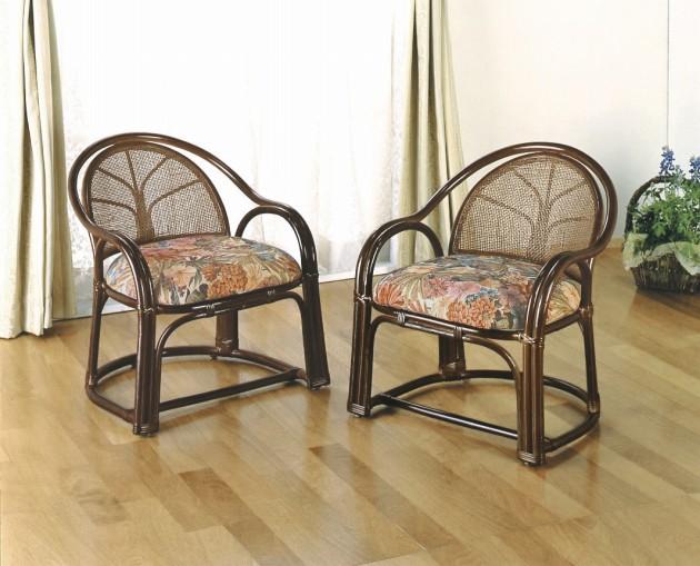 座椅子 膝や腰が軽くても立ち座りがラク名座椅子 アームチェアーロー2脚売 イス・チェア 籐製 送料無料 座椅子 座イス 座いす 椅子 いす イス チェア チェアー 姿勢 腰痛 コンパクト 北欧 シンプル クッション 座布団 リラックスチェアー リビング 一人掛け 1人掛け