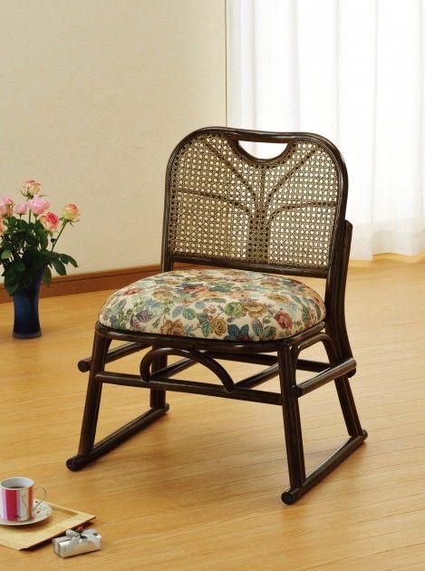 座椅子 重ねておけるので、収納にも便利です。 籐スタッキング座椅子 イス・チェア 籐製 送料無料 座椅子 座イス 座いす 椅子 いす イス チェア チェアー 姿勢 腰痛 コンパクト 北欧 シンプル クッション 座布団 リラックスチェアー リビング 一人掛け 1人掛け