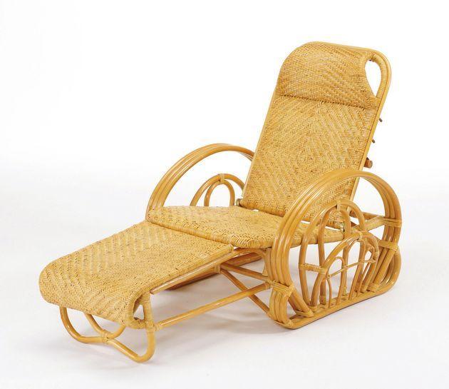 軽くて扱いやすい籐製リクライニングチェア。 籐三ツ折寝椅子 イス・チェア 座椅子 送料無料 最安値に挑戦 新生活 引越