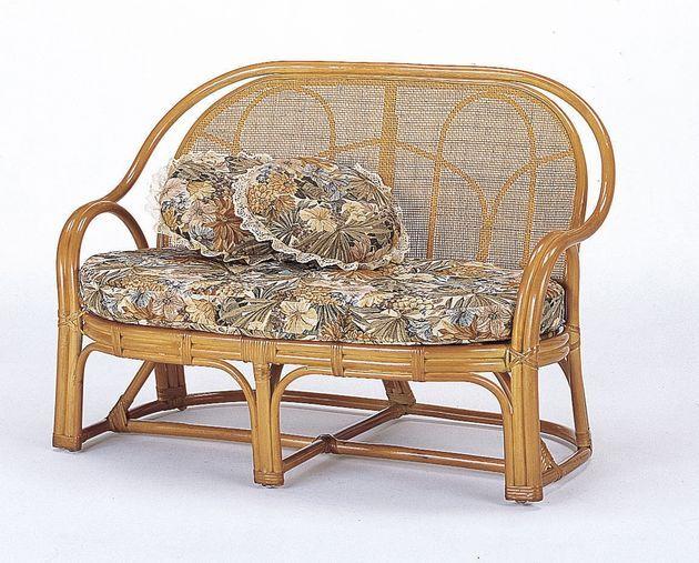 座椅子 どんなお部屋にも合うすっきりしたデザイン。 ラブソファー(背クッションなしタイプ) イス・チェア 座椅子 籐製 送料無料 ソファ ソファー 北欧 シンプル ナチュラル モダン 新生活 敬老の日 母の日 父の日 ギフト プレゼント 座椅子 座いす 座イス チェア チェアー
