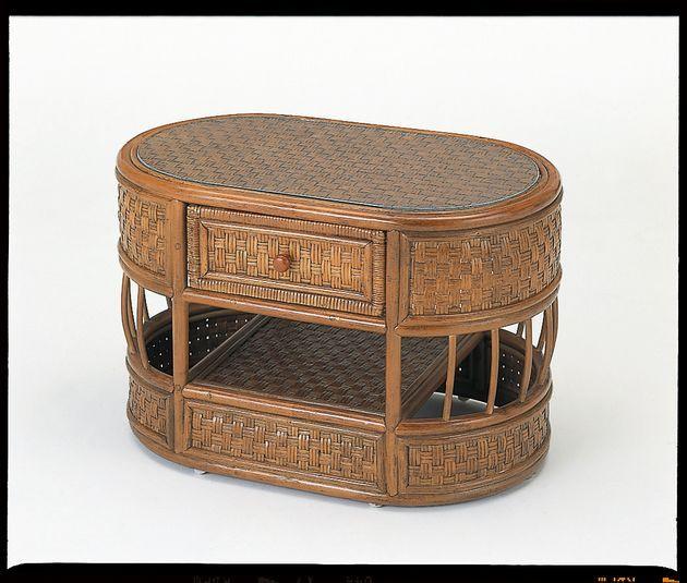 アンティークカラー&デザインでお部屋をシックに演出! 籐テーブル 籐製 ラタン 送料無料 最安値に挑戦 新生活 引越