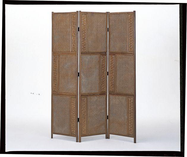 風を通しながらおしゃれに目隠し。 ワイド&ハイ両面張りスクリーン3パネル オフィス家具 パネル・パーテーション 送料無料