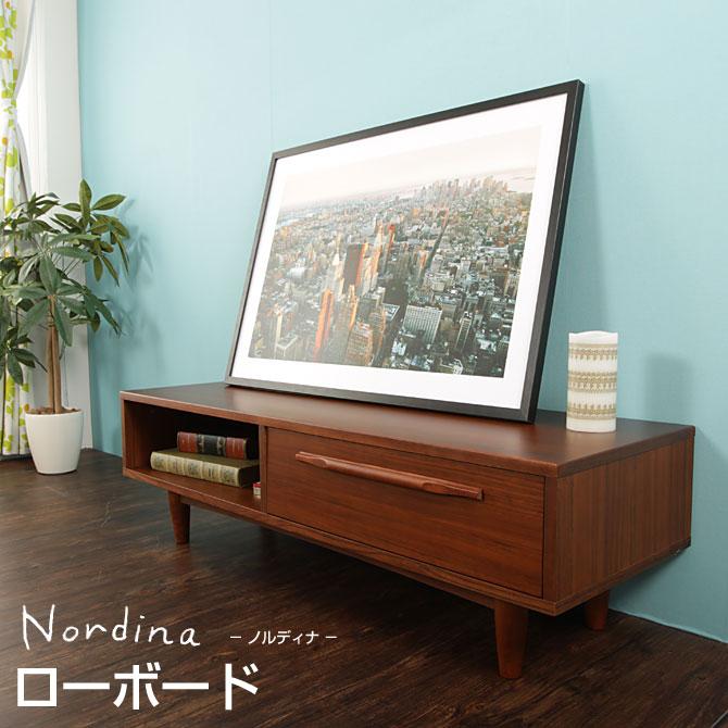 huonest | Rakuten Global Market: TV stand lowboard Nordin width 120 ...