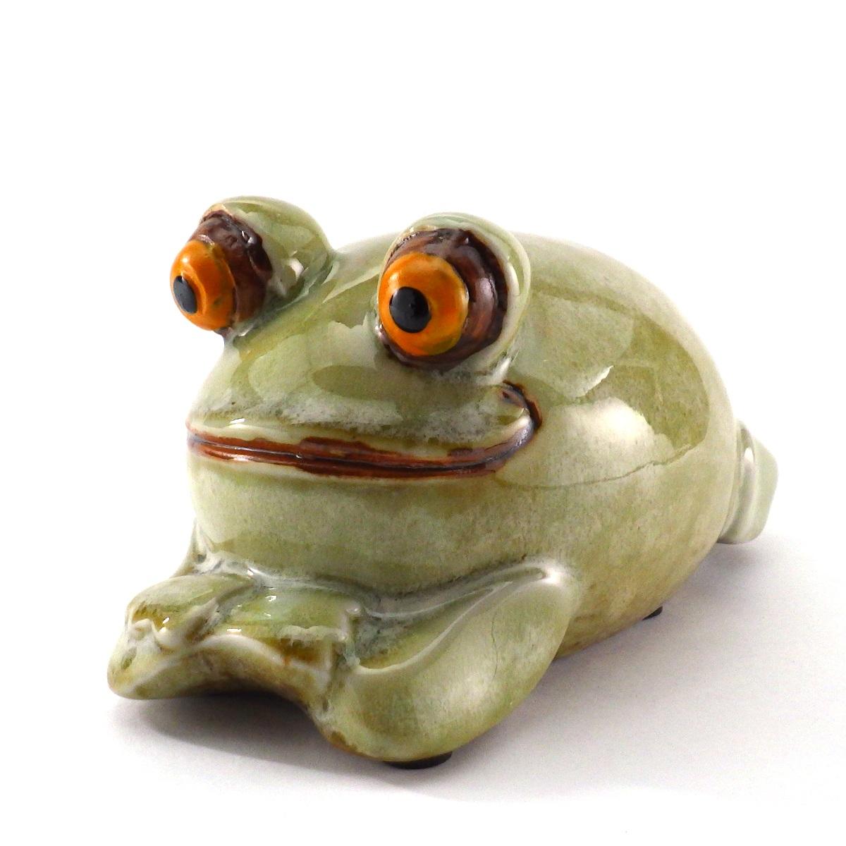 数量限定 カエル かえる 風水 置物 グッズ 開運祈願 かえるの置物 金運祈願 WEB限定 雑貨 かわいい 25日まで 飾り物 10%OFFクーポン めでカエル カエルの置物 風水グッズ 玄関 インテリア 陶器 2021 蛙 庭