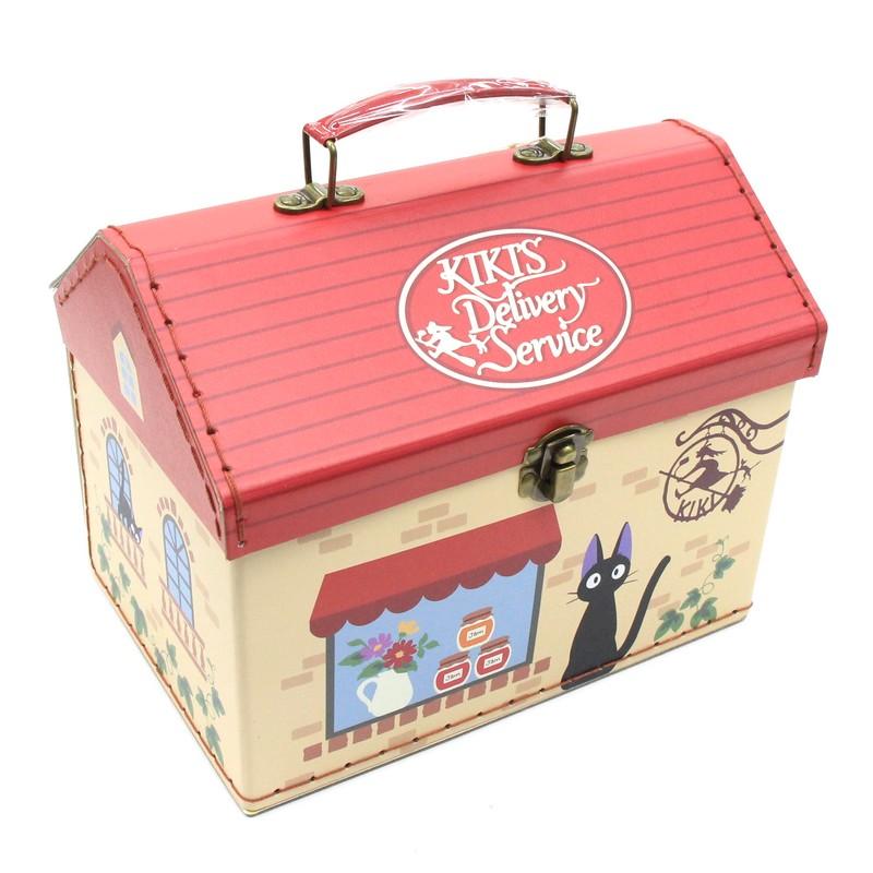 魔女の宅急便 ボックス ジジ SALE開催中 持ち手付家型箱 タイムセール