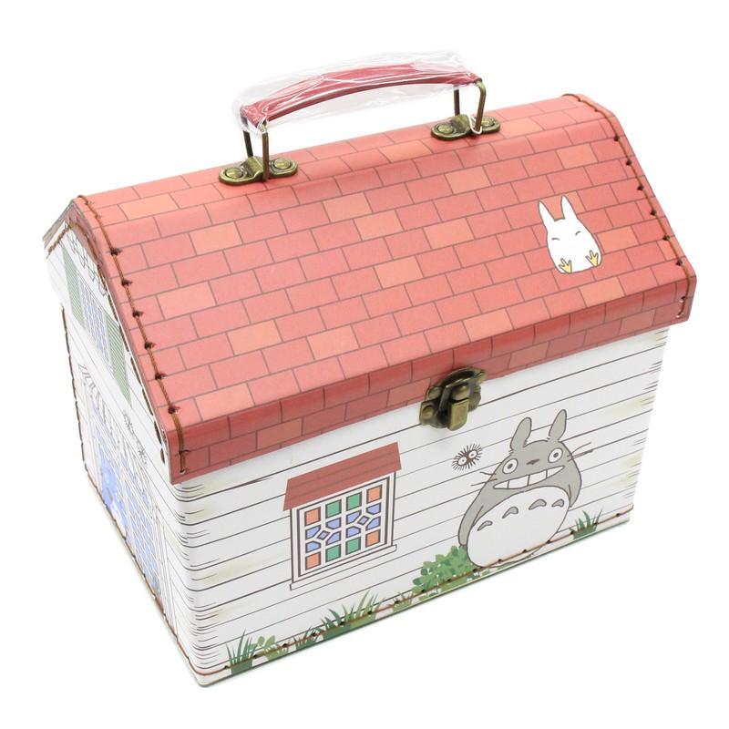 となりのトトロ 定番 期間限定特別価格 ボックス トトロ 持ち手付家型箱