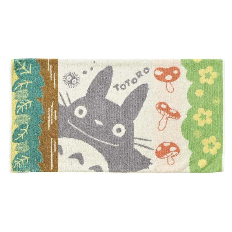 となりのトトロ タオル枕カバー おとな用 森林浴 完売 数量限定アウトレット最安価格