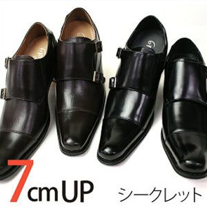 SmartBiz | Rakuten Global Market: Shoes business wedding monk strap popular business shoes men's shoes dress shoes secret men's shoes PU synthetic leather shoes PU leather slip-on straight tip skeleton brand 3E suit leg in her