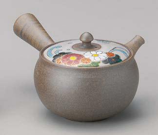 日本六古窯 常滑焼 豊作 菊水 急須 おしゃれ かわいい ポット 高級 お茶 玉露