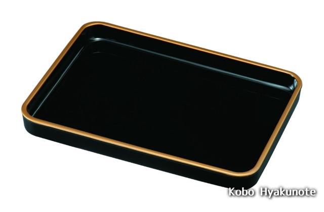 賞状盆 金縁付 17.0