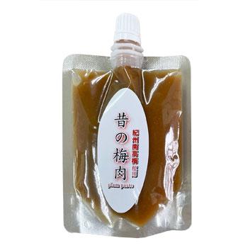 混ぜ物一切なし 春の新作続々 塩分22%梅肉なので 常温保存可能 昔の梅肉パウチパック100g×4個 無添加 [再販ご予約限定送料無料] 深見梅店:混ぜ物一切なし塩分22%梅肉