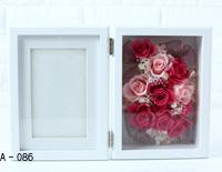 Pinky Rosey:枯れない魔法のお花に心をこめて「フォトフレームBOX(Lサイズ) オプション:A-086~091」