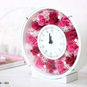Pinky Rosey:枯れない魔法のお花に心をこめて「花時計 オプション:A-063~064