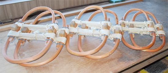 立山登山口の富山の芦峅寺でつくられる伝統品です 定番から日本未入荷 和かんじき 立山かんじき 中 新作販売 雪上歩行に最適