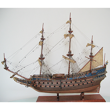 【送料無料】帆船模型 夢住緑「ヴァーサ(L)」(代金引換はご利用できません)