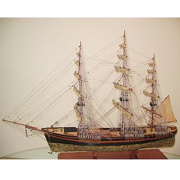 【送料無料】帆船模型 夢住緑「フライング・クラウド・カッパー」(代金引換はご利用できません)