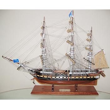 【送料無料】帆船模型 夢住緑「コンスティチューション」(代金引換はご利用できません)